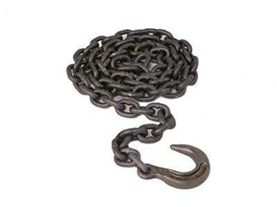 1/2 inch - 14 ft. Chain with 1/4 in. Foundry Hook - 1043158