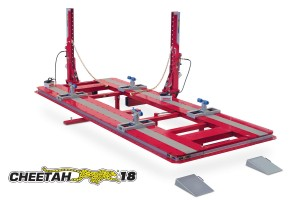 Cheetah 18 Frame Rack by Star-A-Liner. This model is designed for unibody cars up to extended cab trucks.